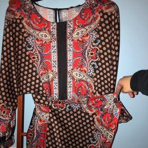 Zara Wrap dress.
